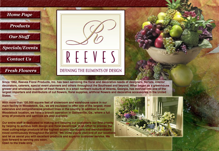 Reeves Floral Products Inc.