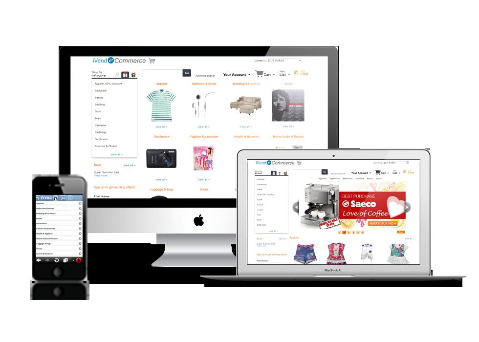 iVend eCommerce Banner